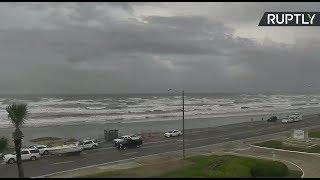 Hurricane Harvey approaches Texas coast (STREAMED LIVE)