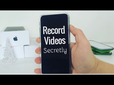 iOS 10 Tips and Tricks - Secretly Record Videos