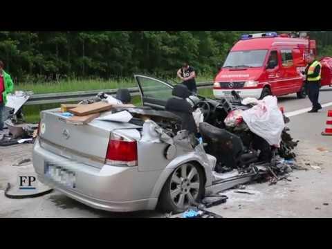 Drei Tote bei Unfall auf der A 4 bei Hainichen