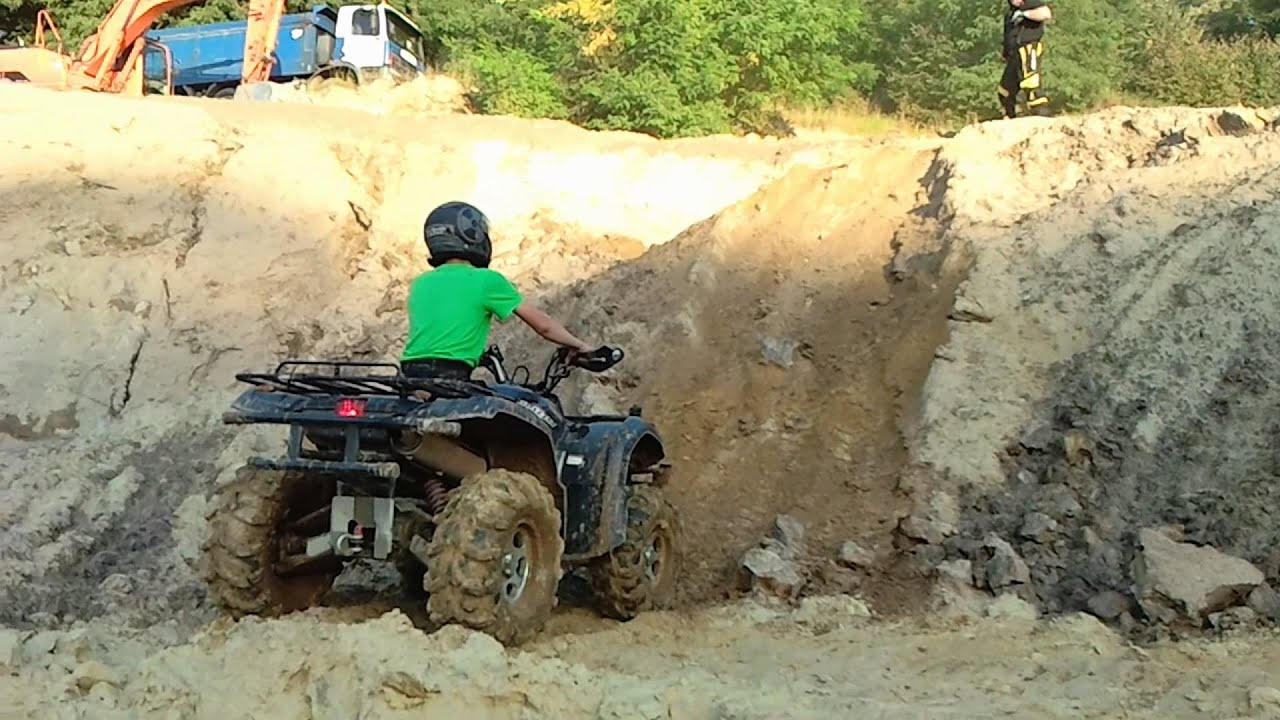 Yamaha Grizzly 660 >> Kisiel i Yamaha Grizzly 660 - YouTube