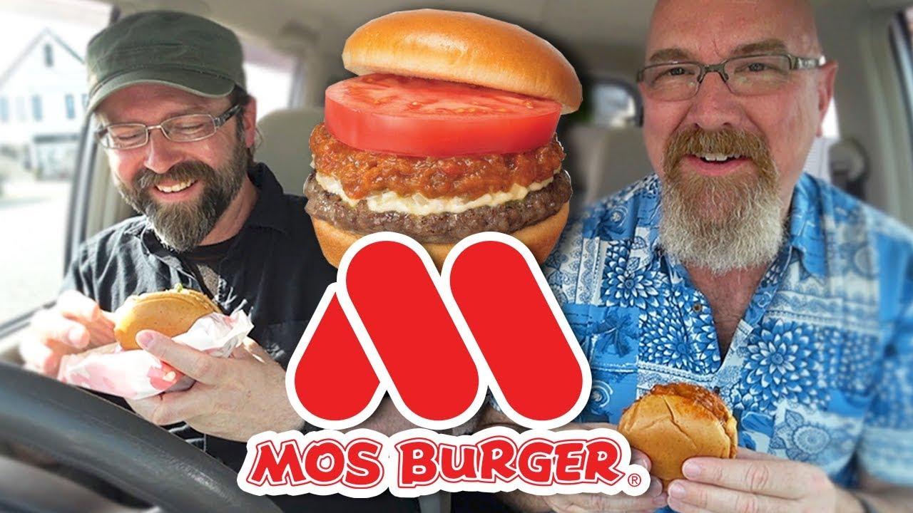 MOS Burger モスバーガ • Japanese Burger Restaurant