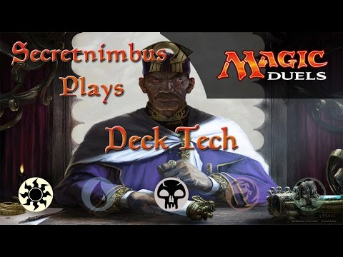 Let's Play Magic Duels  - W/B Artifact Life Manipulation Deck - Deck Tech & Gameplay