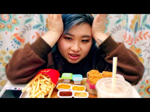 NEAR DEATH EXPERIENCE  footage + NUGGETS MUKBANG l vlogmas 2018 day 6