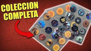 NUEVOS TAZOS DE SPIDERMAN | ¿COMO SE VE LA COLECCIÓN?