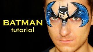 Batman Mask — Easy & Cool Face Painting & Makeup
