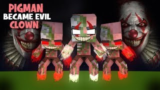 MONSTER SCHOOL : ZOMBIEPIGMAN BECAME VILLAIN - EPIC FIGHT - Minecraft Animation
