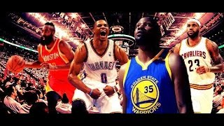 2017 MVP Race (Ft Russell Westbrook, James Harden, Kevin Durant, & LeBron James)