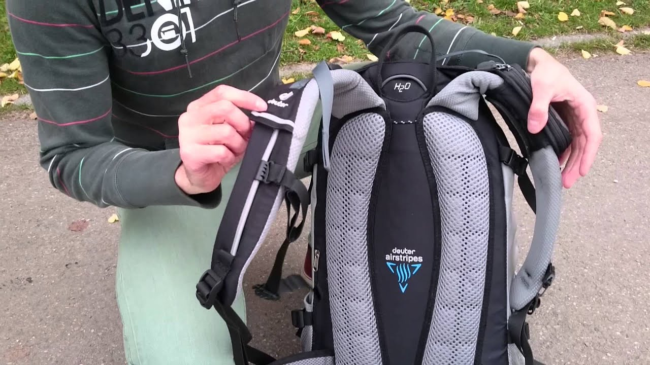 radltutorial rucksack richtig tragen auf dem fahrrad youtube. Black Bedroom Furniture Sets. Home Design Ideas