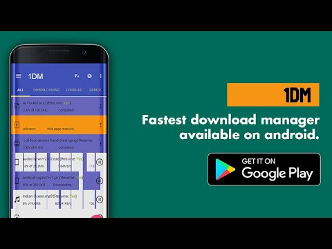 How to use IDM/IDM+ to download files on Android - YouTube