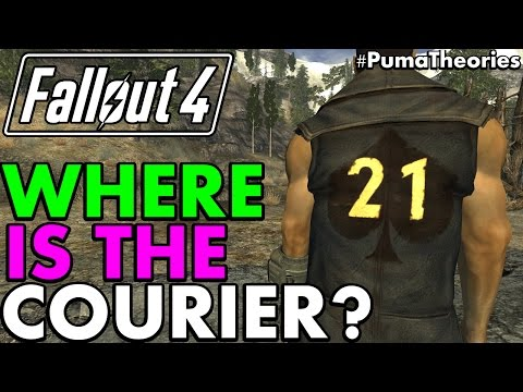 Fallout 4: Where is the Courier from Fallout New Vegas? (Lore and Theory) #PumaTheories