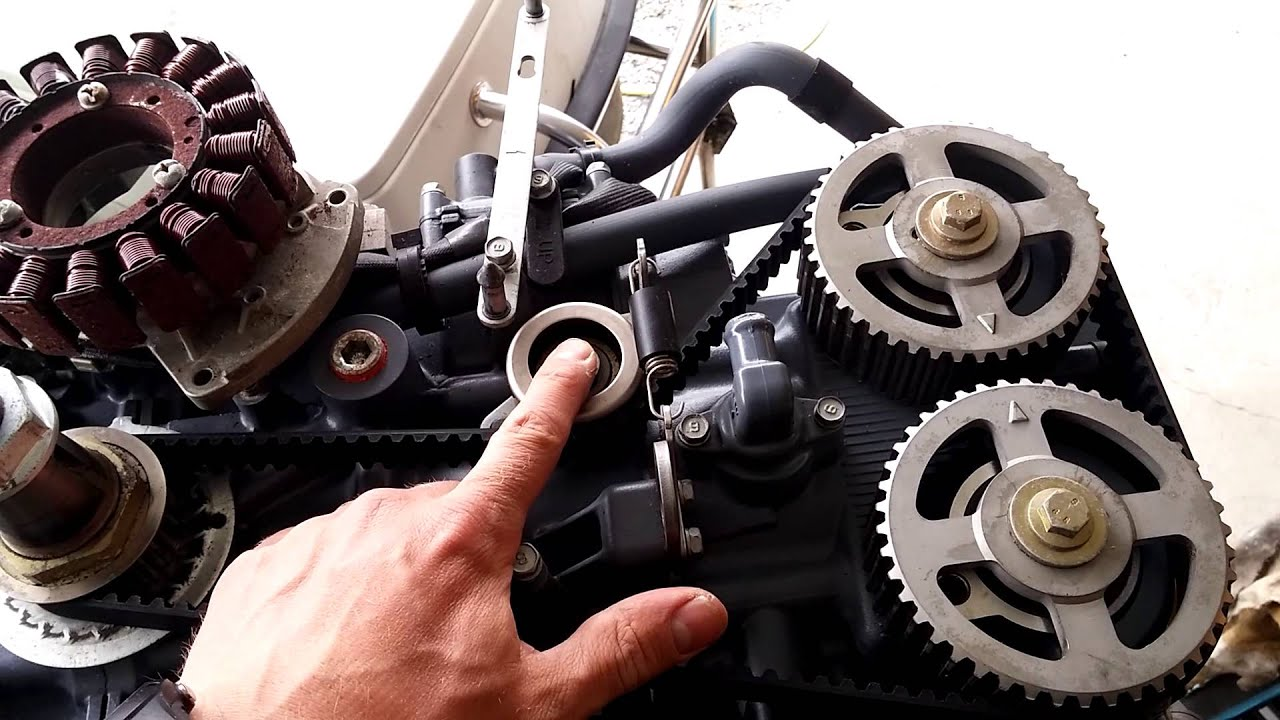 Yamaha Outboard Timing Belt Replacement