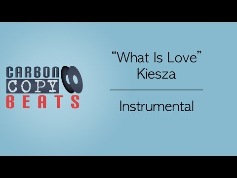 What Is Love - Instrumental / Karaoke (In The Style Of Kiesza)