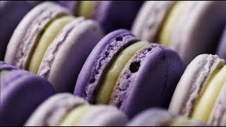 How To Make Perfect Violet Lavender Macarons From Scratch | Macaron Recipe