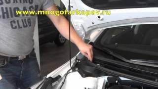 видео Амортизатор Cerato (LD) передний (газ-масло), Kayaba (333490) правый