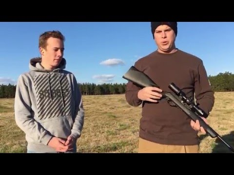 German Foreign Exchange Student's First Firearm Experience