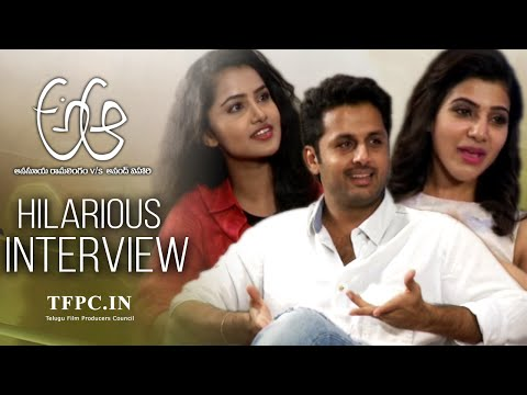 A Aa Movie Team Hilarious Interview | Nithiin | Samantha | Anupama Parameshwaran | TFPC
