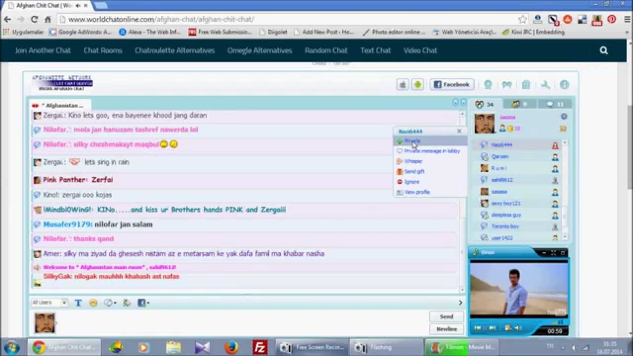 pamir chat room voice