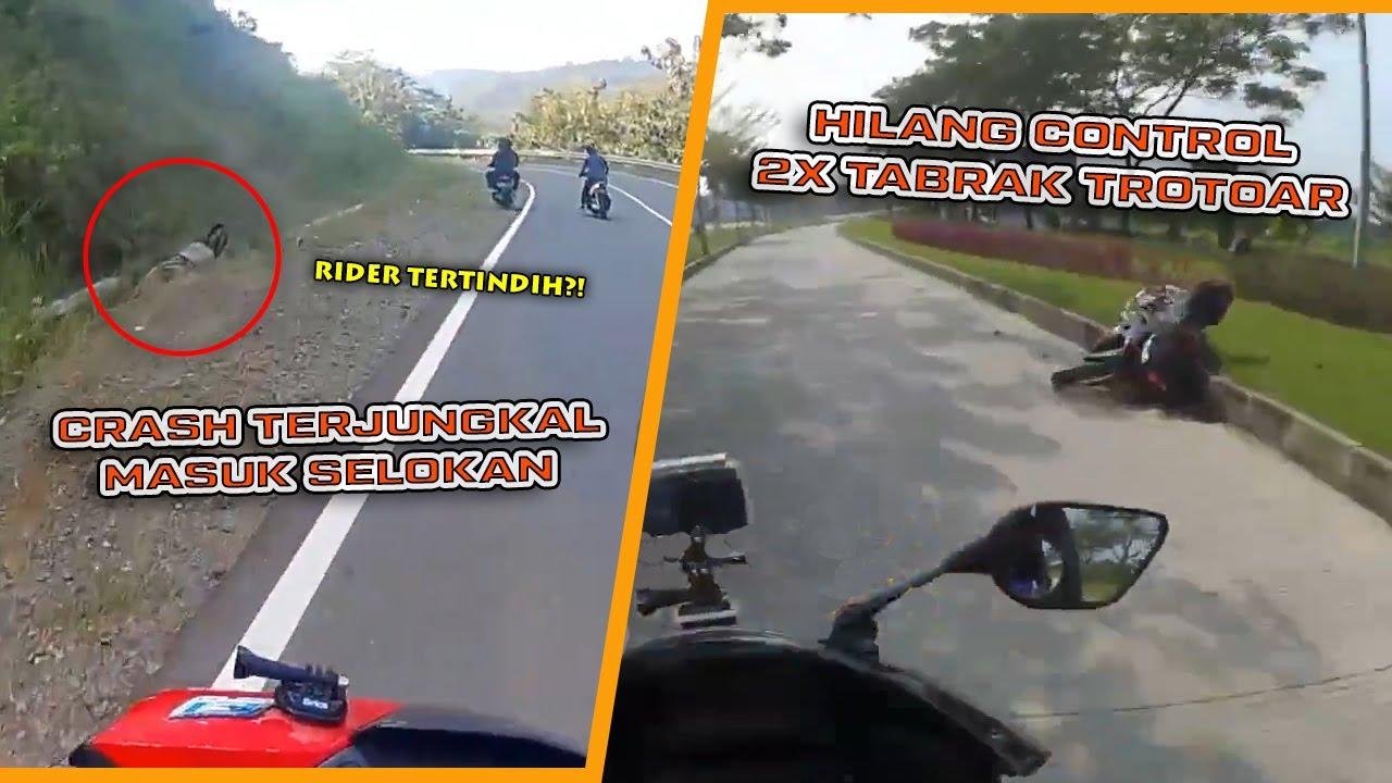 Tekor Nikung Sampe Masuk Selokan - Sunmori Dihadang Warga - Insiden R15 V3 Tabrak Trotoar || RH#134