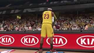PS4 NBA 2k14 Cavs vs Bulls Gameplay MyGm
