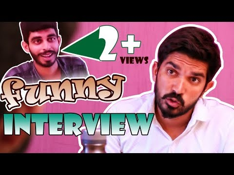Funny Face to Face Interview | Latest Telugu Comedy 2018 || Myra Media