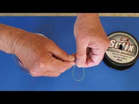 Shock Leader Knot For Surfcasting