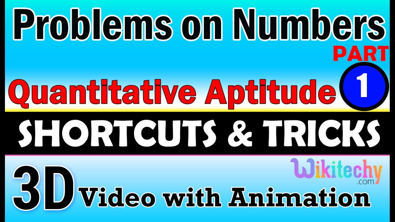 problems on numbers 1 aptitude interview questions papers and problems on numbers 1 aptitude interview questions papers and answers online videos lectures tips