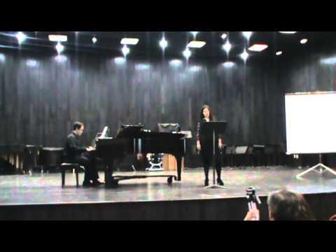 Karla Dinorah Mtz Sagredo/ Charbel Yubaile Kalixto - Die Spröde - Hugo Wolf