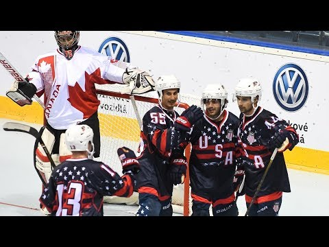 USA Vs. Canada - 2017 IIHF Inline Hockey World Championship