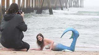 Behind the Scenes--Author Tobie Easton for Project Mermaids