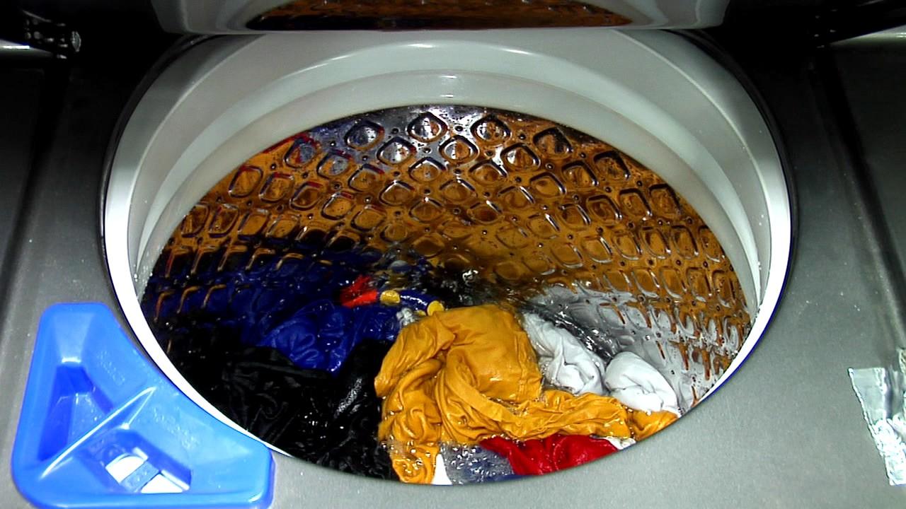 Ffle4033qt Frigidaire Laundry Center Start To Finish Run