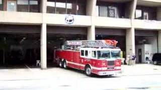 Baltimore City Fire Department Truck 2 Responding 7/28