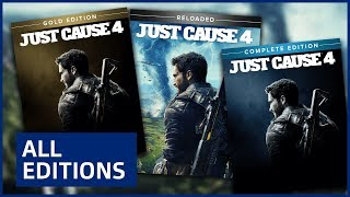 Just Cause 4 - Editions Explained