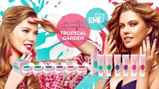 New! Gel paints and EMPASTA Tropical Garden