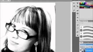 фотошоп как сделать черно белое фото