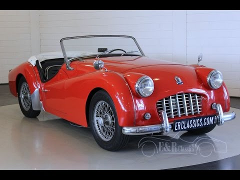 Triumph Tr3 Cabriolet 1957 Video Wwwerclassicscom Youtube