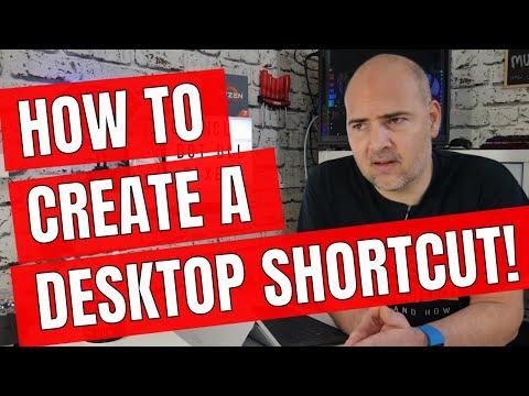 how-to-create-a-desktop-shortcut-in-windows-10