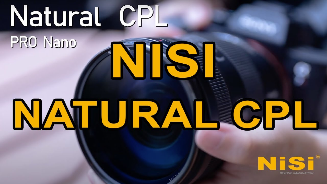NiSi Pro Nano Natural CPL 58mm Circular Polarizing Filter