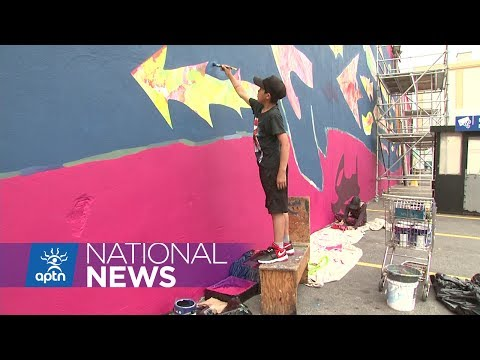 Young Inuit Artists Leave Their Mark in Ottawa | APTN News