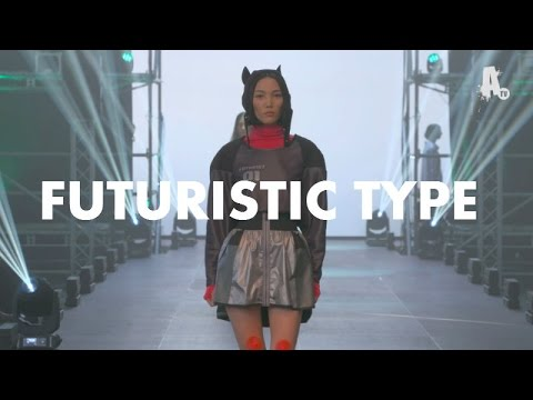 Berlin Alternative Fashion Week MARCH 2016 - FUTURISTIC TYPE [OFFICIAL]