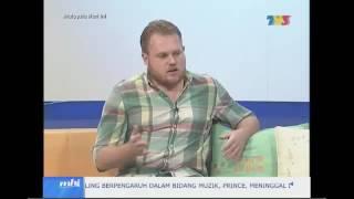 Rhys William di Malaysia Hari Ini MHI