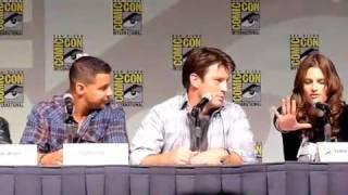 Comic-Con 2010 - Castle - Pranking Seamus