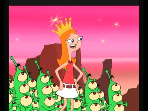 Phineas and Ferb music video  Queen of Mars No.09