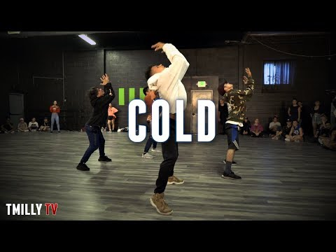 Maroon 5  Cold ft Future  Choreography  Cameron Lee  #TMillyTV