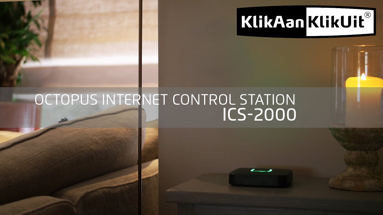 Klik Aan Klik Uit Internet Klikaanklikuit Internet Control Station Ics 2000 Youtube