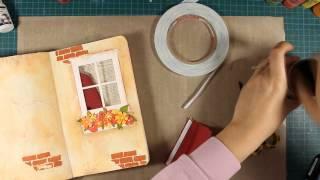 Enjoy the Little Things Art Journaling Techniques