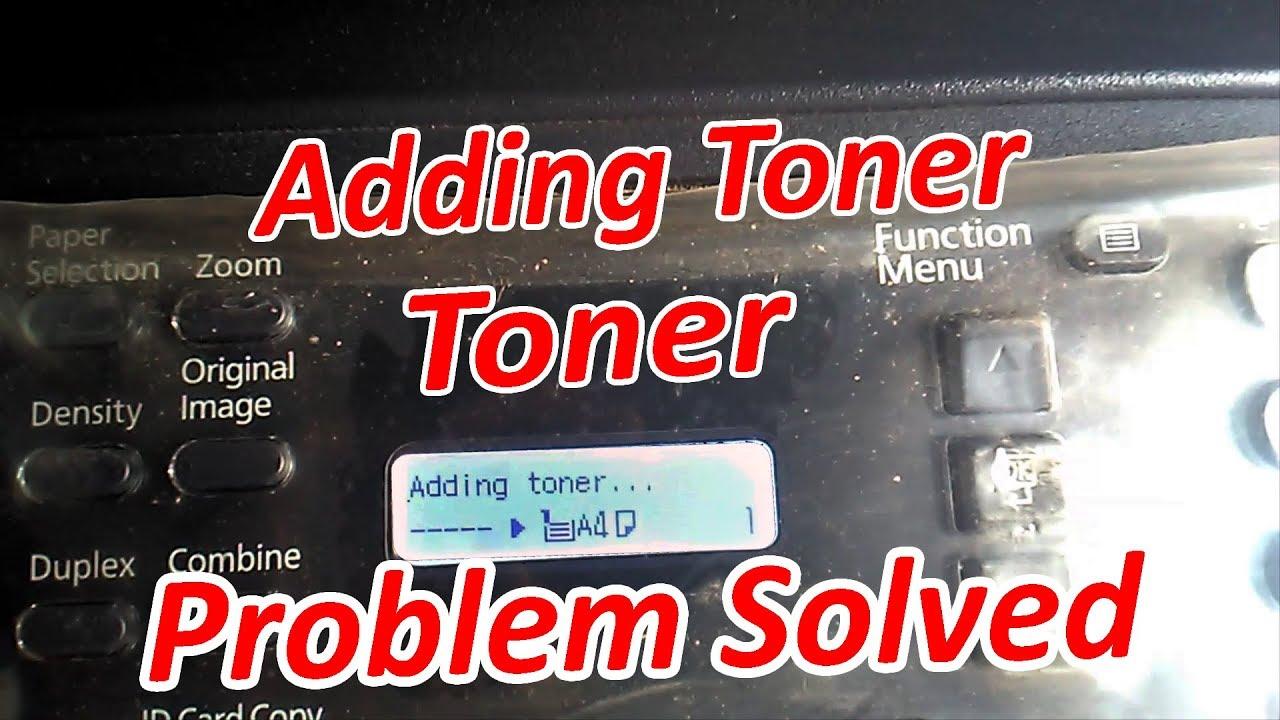 How to Solved Adding toner problem KYOCERA TASKalfa 1800 (For All Kyocera  Machine)