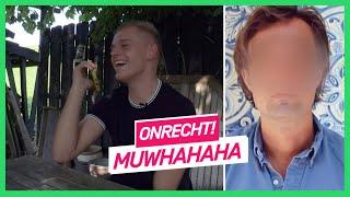 Onrecht! | Oplichter werkt op lachspieren Bram en Dennis | NPO 3 Extra