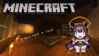 【Minecraft】 Roof Where???!?