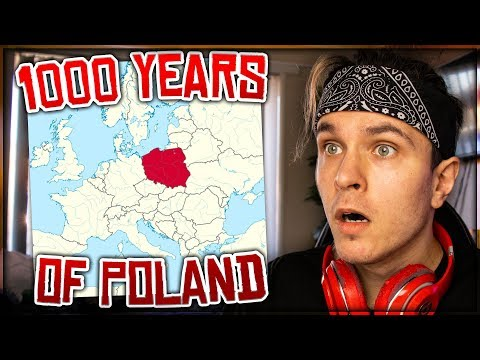 1000 YEARS OF POLAND IN 5 MINUTES REACTION