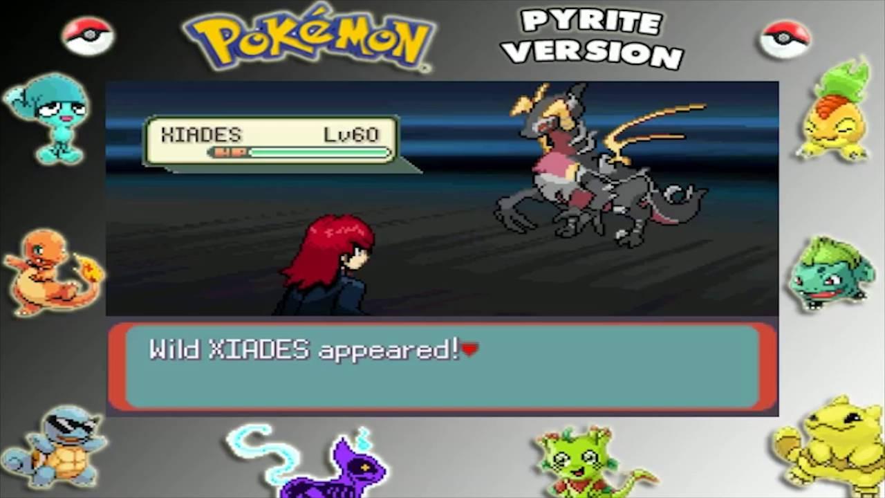pokemon pyrite version